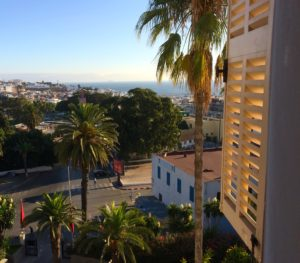 Tanger vue des appartements