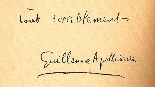 Guillaume Apollinaire — 2 : Alcools